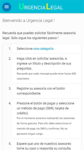 Home | Urgencia Legal