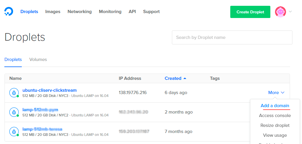 dominio y asociar hostingNamecheap Cómo con DigitalOcean nmN0wy8Ov