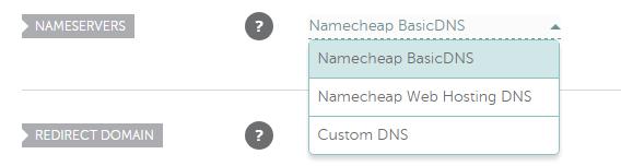 Seleccionamos la opción para ingresar nuestros propios DNS